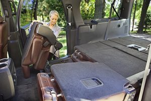 Ford Expedition Seats Folded Flat