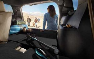 Ford Explorer Seats Folded Flat