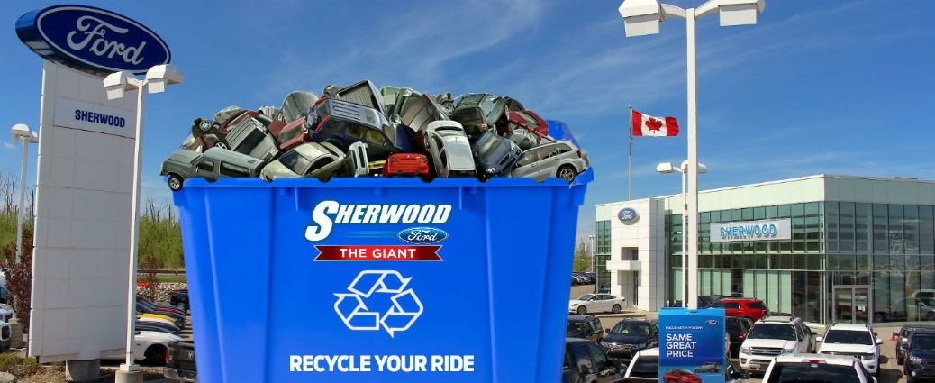 Recycle Your Ride advertisement from Sherwood Ford