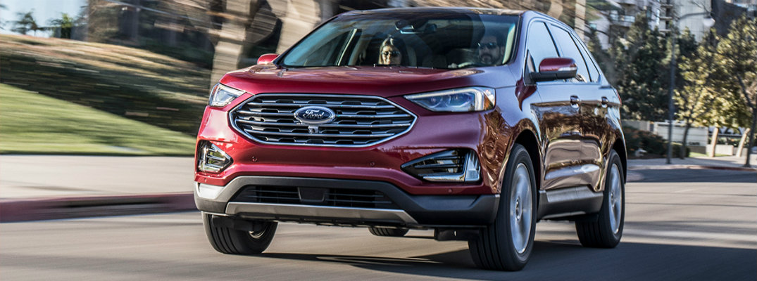 What new features are available on the new 2019 Ford Edge?