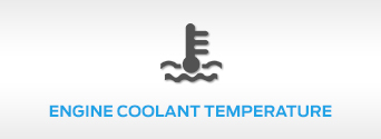Engine Coolant Temperature Light inside Ford vehicle