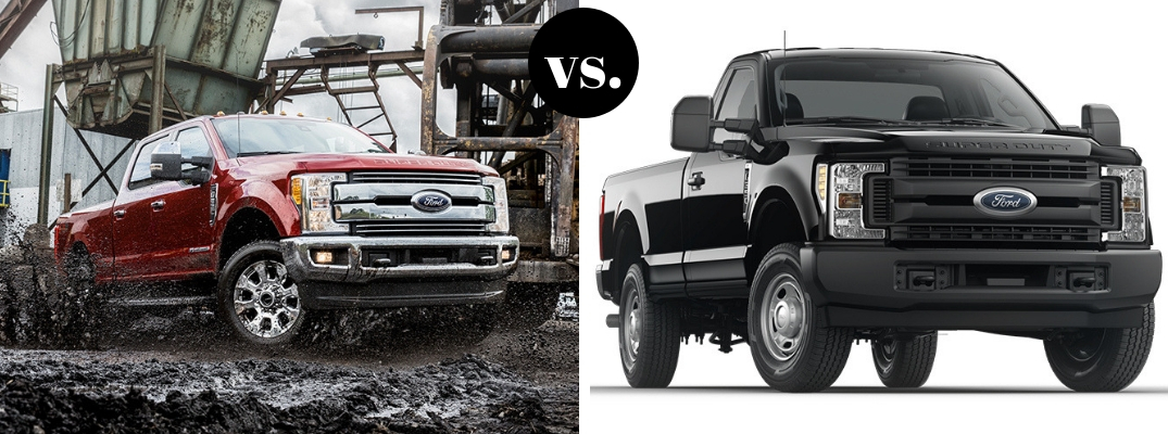 What are the differences between the 2019 Ford Super Duty F-250 and F-350?