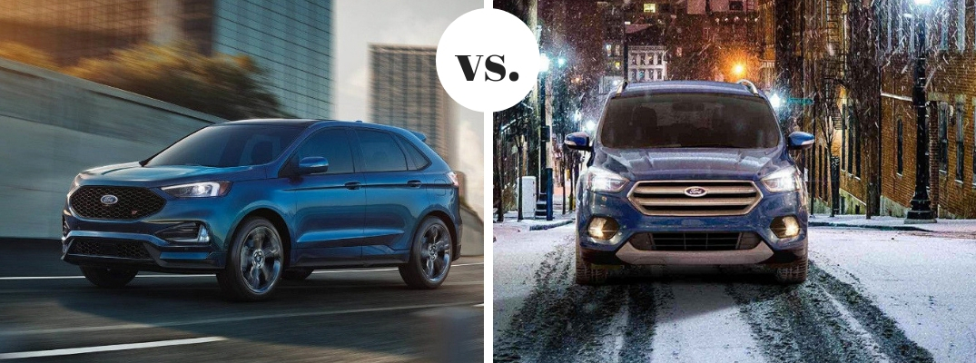 Ford Edge Vs Escape >> 2019 Ford Edge Vs 2019 Ford Escape Model Comparison