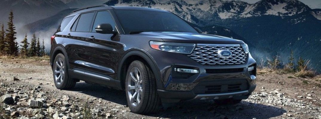 Anticipated exterior colour options for the 2020 Ford Explorer