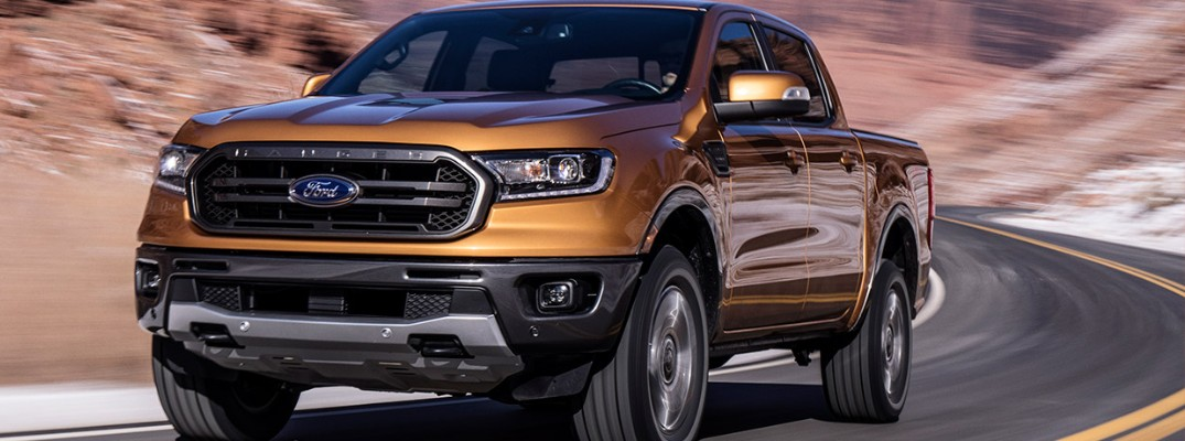 Exterior paint colours and pricing information for the 2019 Ford Ranger