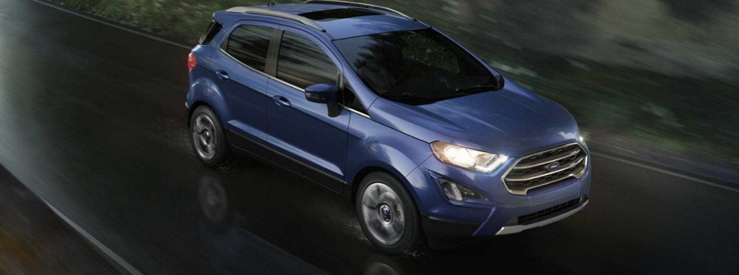 Best features and specs of the 2019 Ford EcoSport