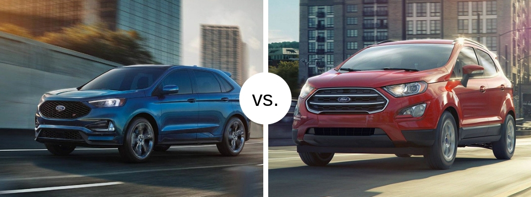Which Ford Crossover is best for you – the Edge or EcoSport?