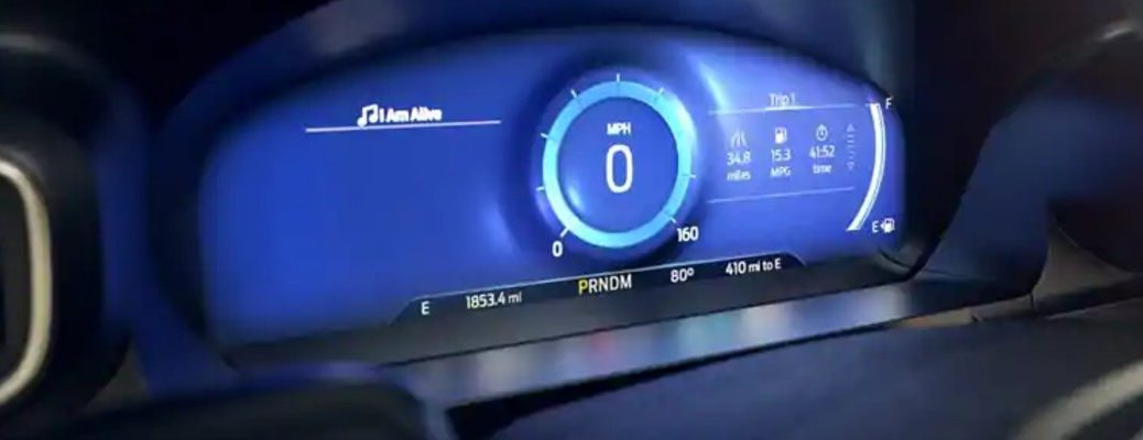 Isolated image of 2020 Ford Explorer Mindful Mode interface