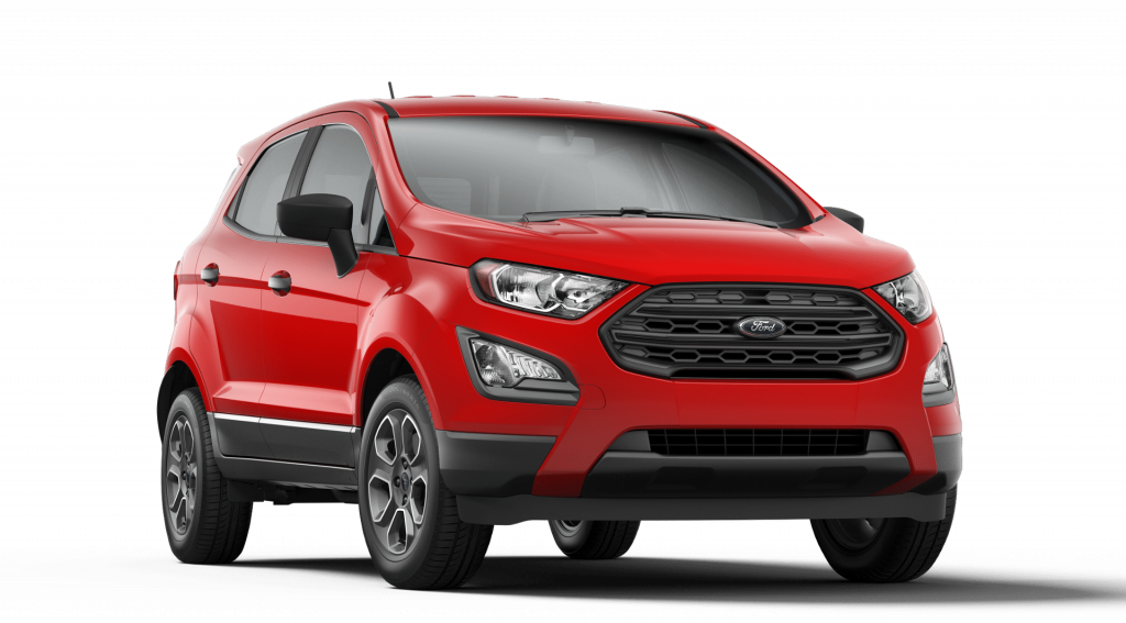 2019 Ford EcoSport in Race Red