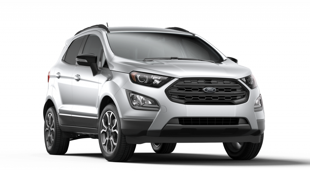 2019 Ford EcoSport in Moondust Silver