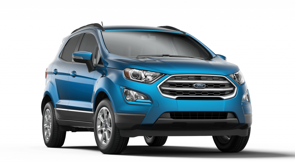 2019 Ford EcoSport in Blue Candy