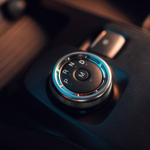 Centre gear shifter of 2020 Ford Shelby GT500