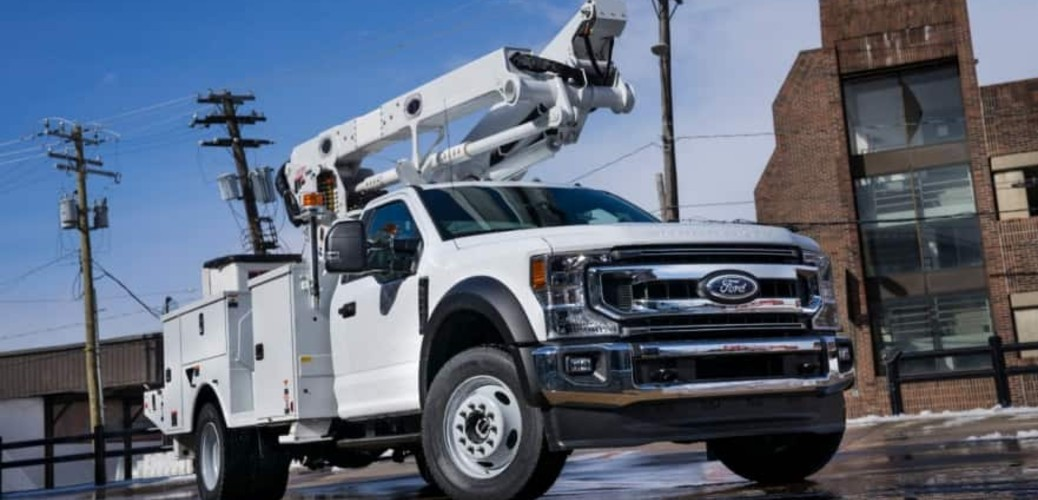 Power Takeoff Rating for the 2020 Ford Super Duty Chassis Cab