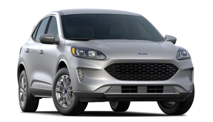 2020 Ford Escape SE on white background