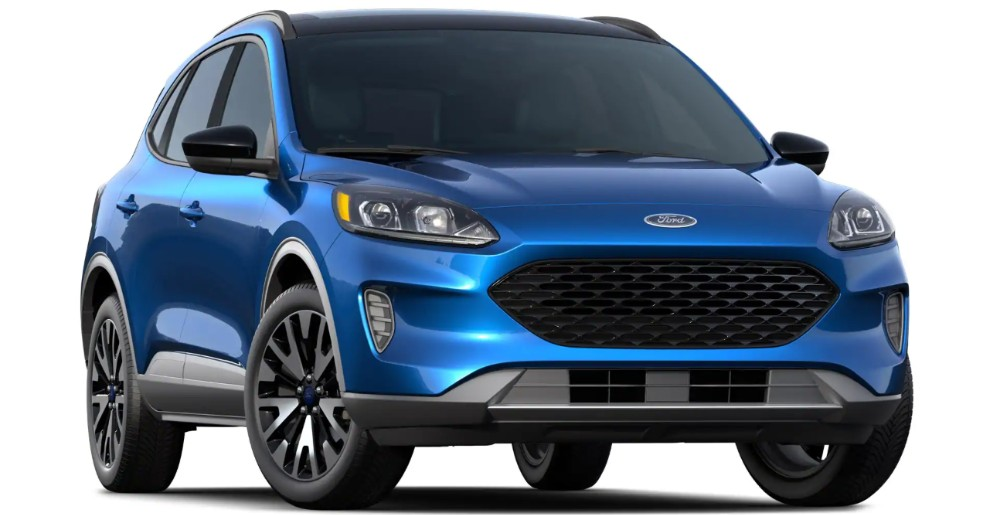 2020 Ford Escape SE Sport Hybrid on white background