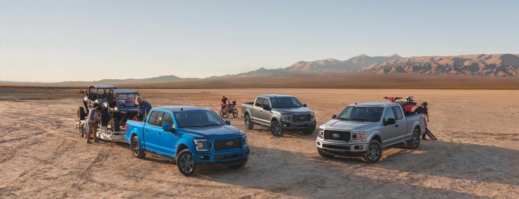 Trim levels include XL, XLT, Lariat, King Ranch, Platinum and Limited, in addition to Raptor. Law enforcement can choose the F-150 Police Responder – the industry's first and only pursuit-rated pickup, giving agencies a more versatile and capable patrol vehicle.