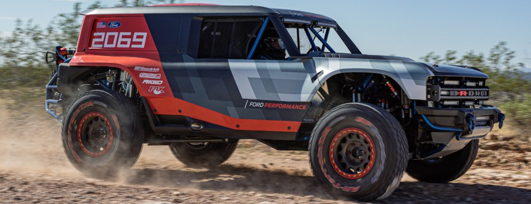 What is the Ford Bronco R?