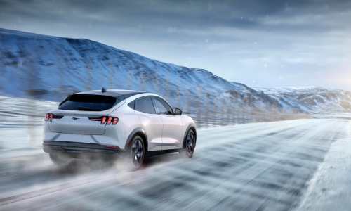 A new all-wheel-drive system (eAWD) on 2021 Mustang Mach-E will apply torque independently to the front and rear axles