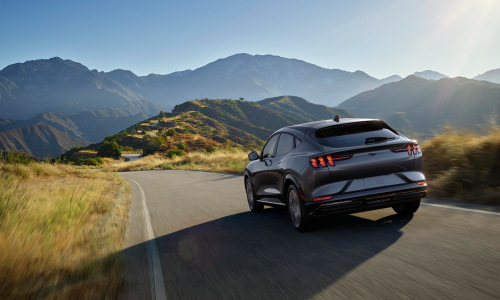 Mustang Mach-E delivers eAWD and three unique drive experiences: Whisper, Engage and Unbridled.