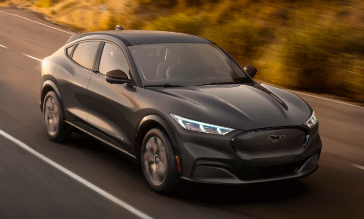 2021 Ford Mustang Mach-E in Carbonized Gray