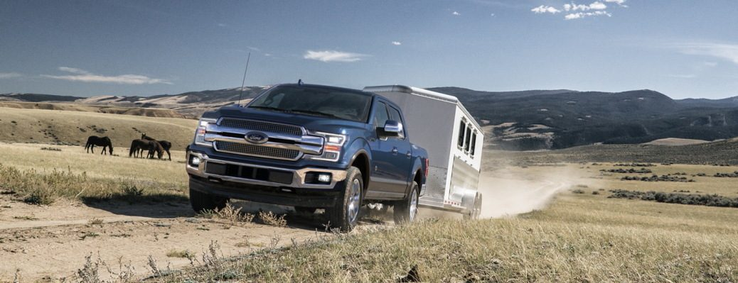 2020 F-150 King Ranch Towing Trailer