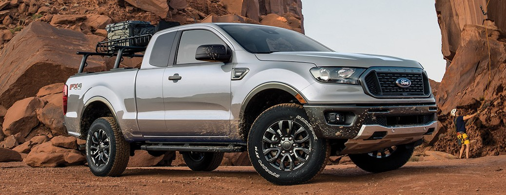 What's included in the Ranger ROUSH Performance Pac?