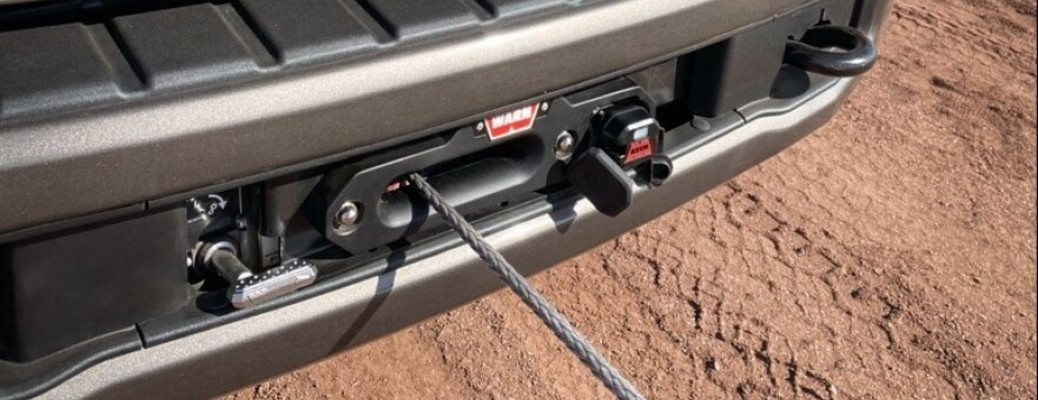 Ford Offers New Integrated Winch for 2020 F-Series Super Duty Tremor Gas and Diesel Trucks