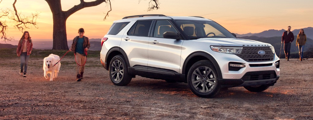 What's new for the 2021 Ford Explorer XLT Sport Appearance Package?