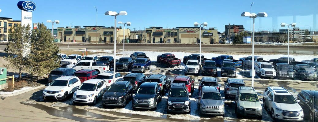 Used vehicles at Sherwood Ford dealership