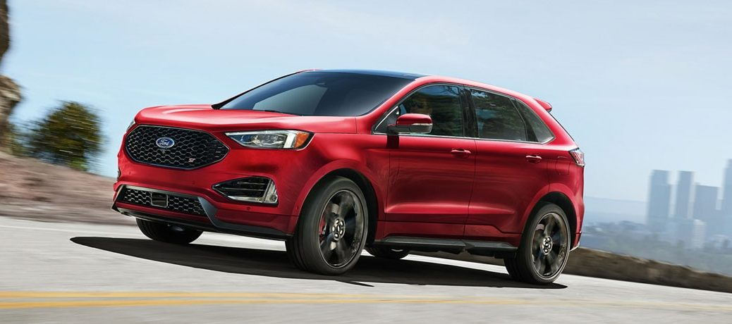 red 2020 Ford Edge front side view