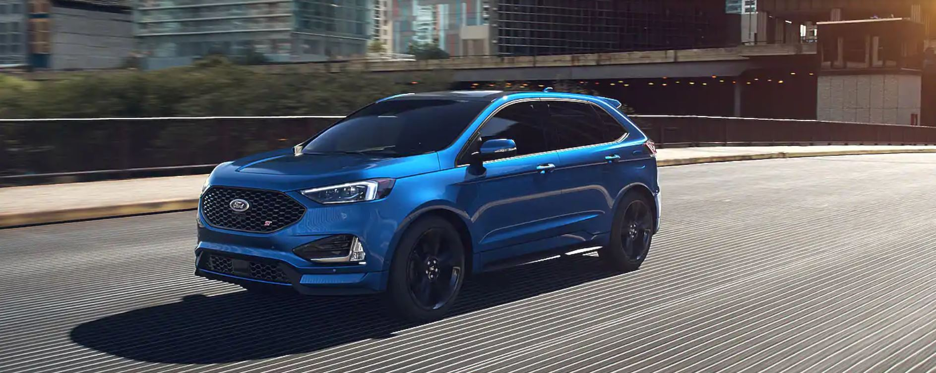 2020 Ford Edge Performance Blue