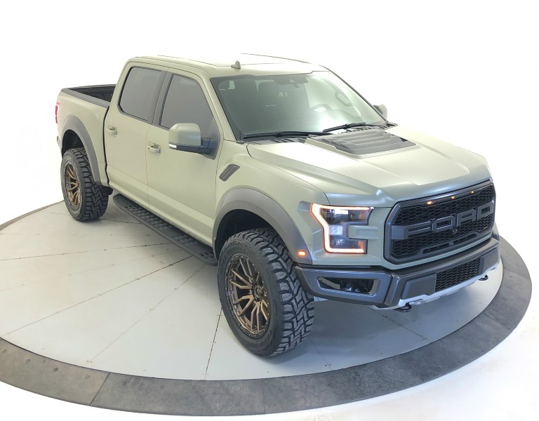 Giant Customs 2019 Ford F-150 Raptor front side view