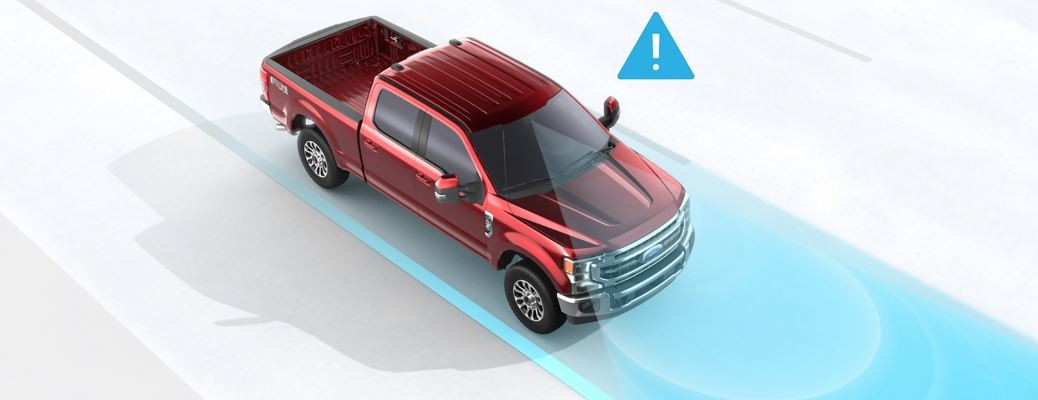 2020 Ford Super Duty Driver-Assist Technology