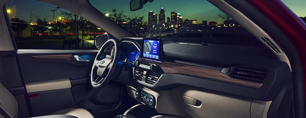 2020 Ford Escape front seats