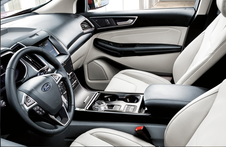 seating in a 2020 Ford Edge