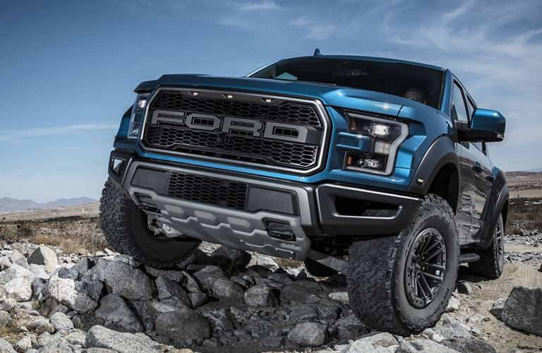 2020 Ford F-150 Raptor front view