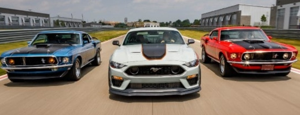 2021 Ford Mustang Mach 1 Performance and Handling Features