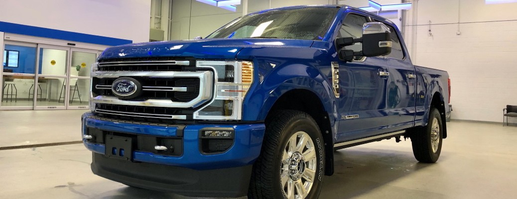 2020 Ford Super Duty F-350 Velocity Blue