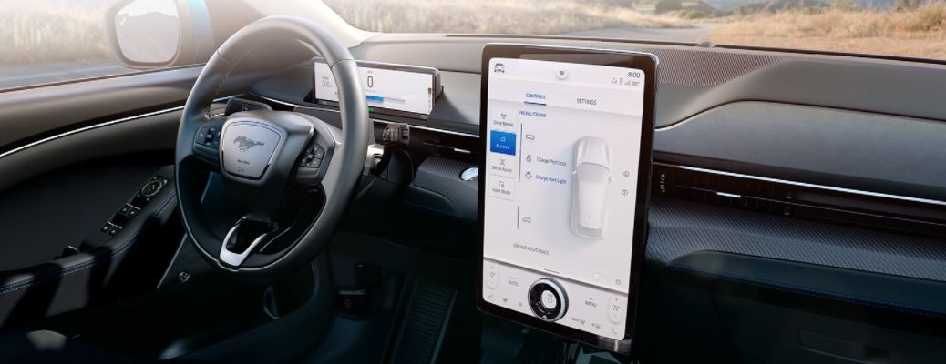 Ford SYNC4 technology on a display screen