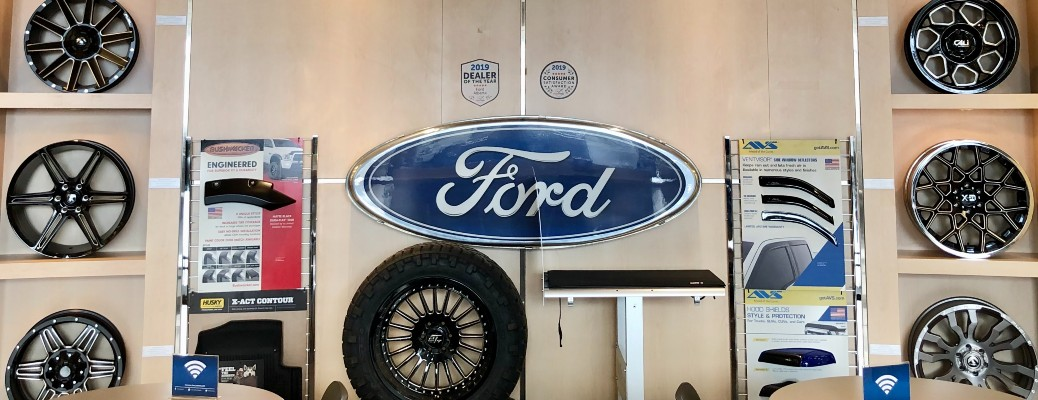 Ford wheels at Sherwood Ford