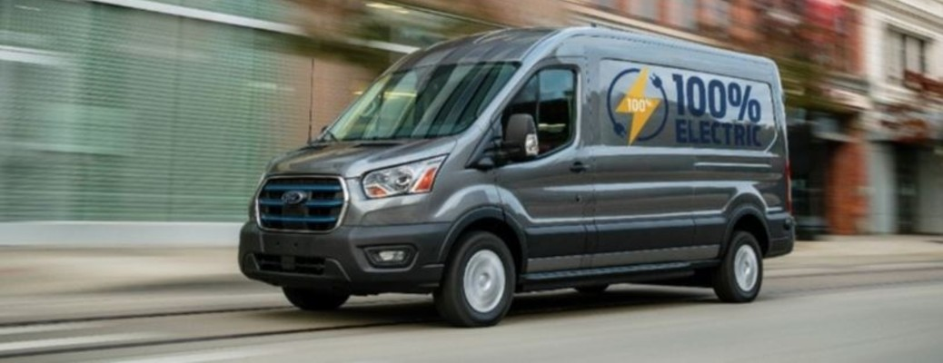 2022 Ford E-Transit side view
