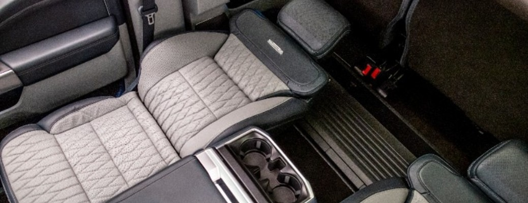 What are the Max Recline Seats in the 2021 Ford F-150?