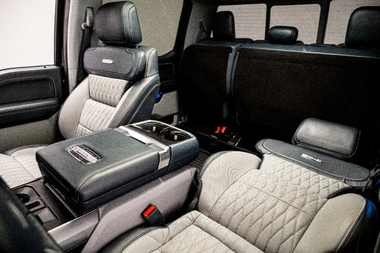 Ford Max Recline Seats one reclined and one not