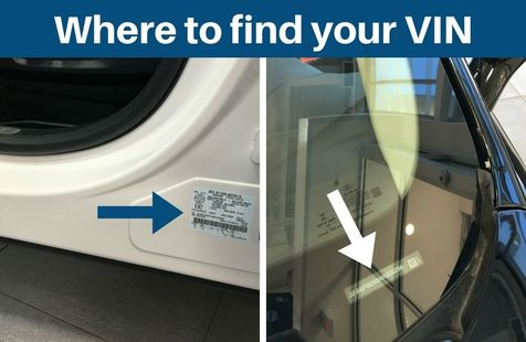 where to find your VIN image