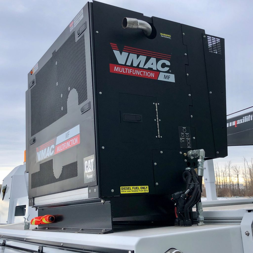 custom 2020 Ford F-550 crane truck VMAC Power System