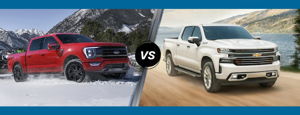 2021 Ford F-150 vs 2021 Chevrolet Silverado 1500