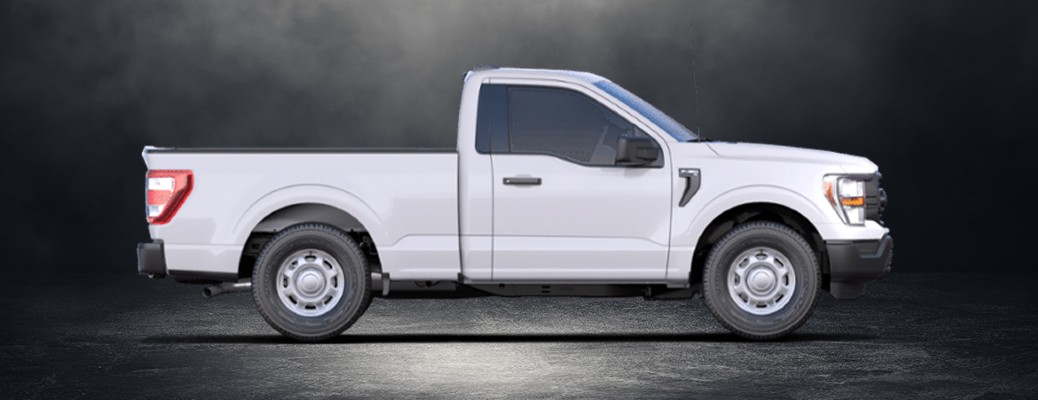 2021 Ford F-150 side view