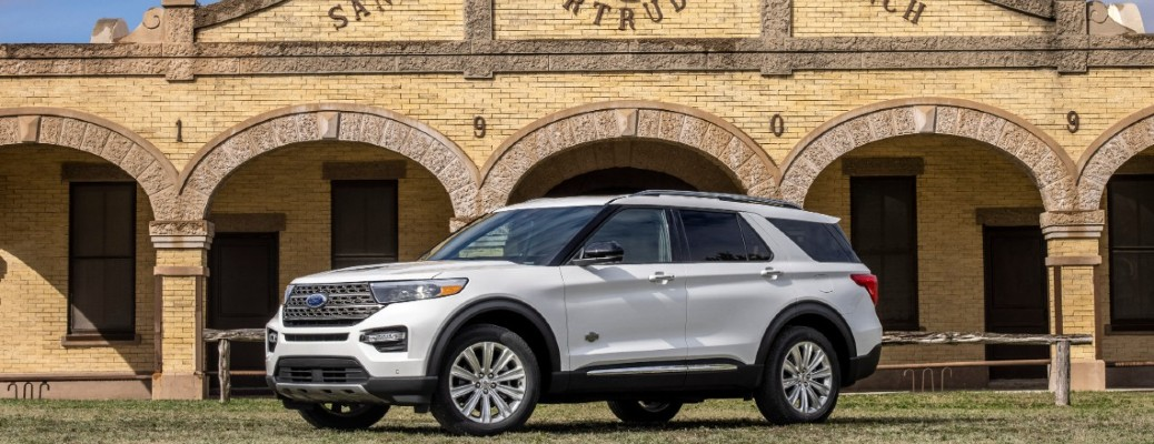 What are the best features of the 2021 Ford Explorer King Ranch trim level?