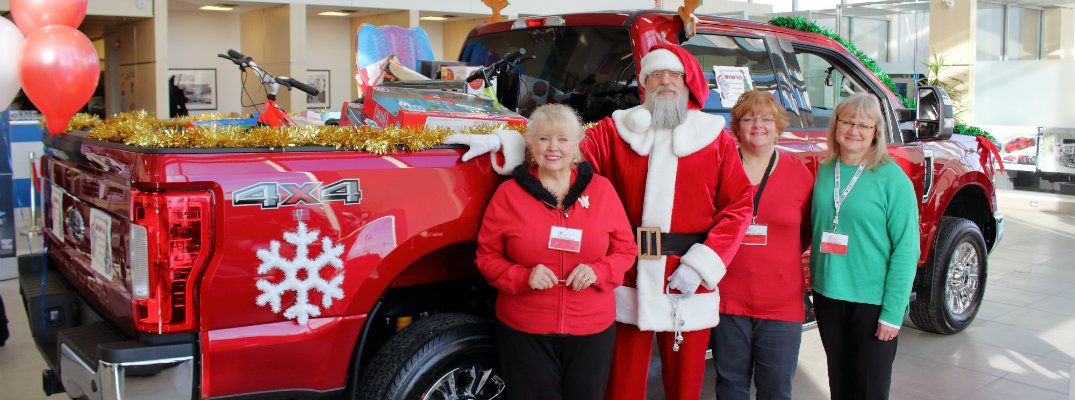 2018 Stuff-A-Giant Truck Event at Sherwood Ford in Strathcona County