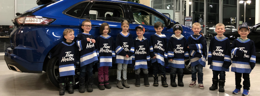 Sherwood Ford sends Sherwood Park Kids to Ford Small Stars Series